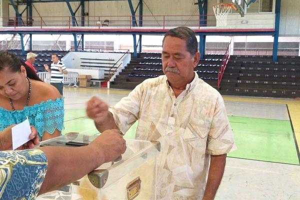 Rodolphe Apuarii, président de la fédération tahitienne de va'a