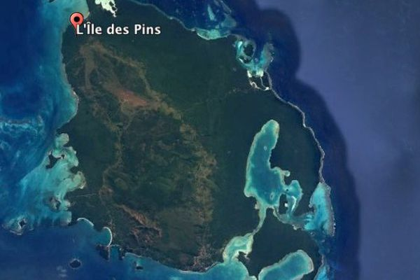 Ile des Pins Pollution eau