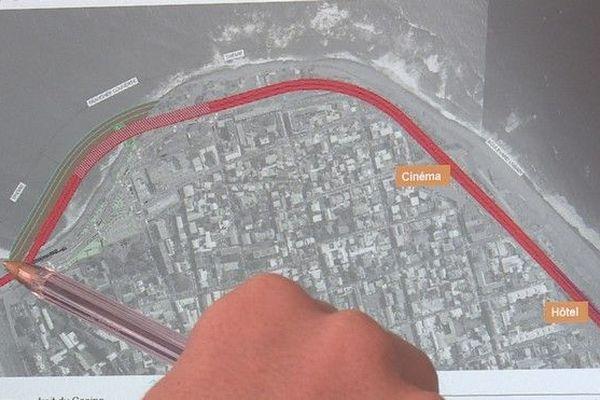 """NEO Nouvelle entrée ouest de Saint-Denis """"tracé terre"""" 270619"""