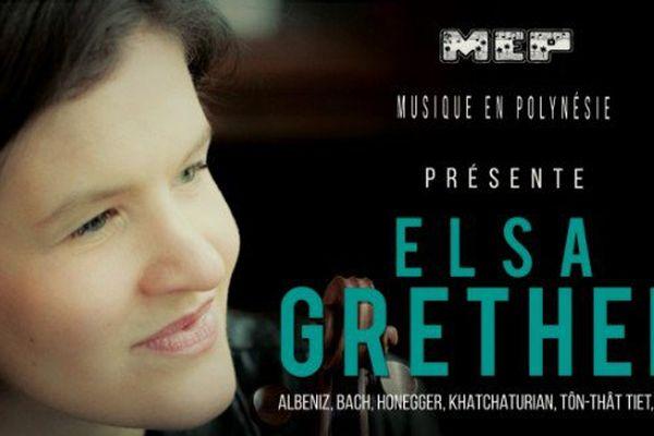 Elsa Grether, violoncelliste virtuose