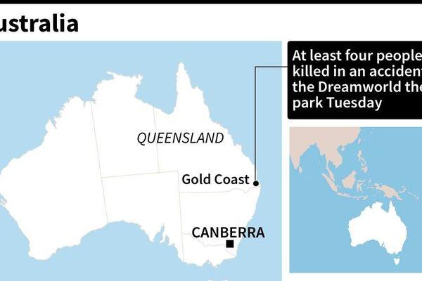 L'accident s'est déroulé sur la Gold Coast en Australie