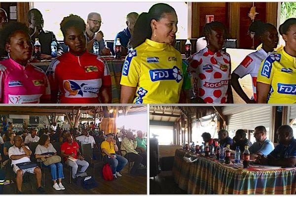 Cyclisme : présentation du 37e tour de Martinique