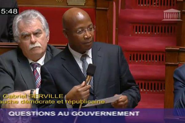 Gabriel Serville, député de Guyane