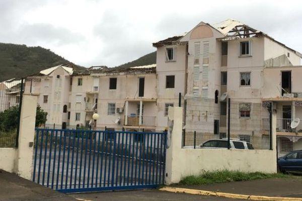Saint-Martin bâtiments désaffectés