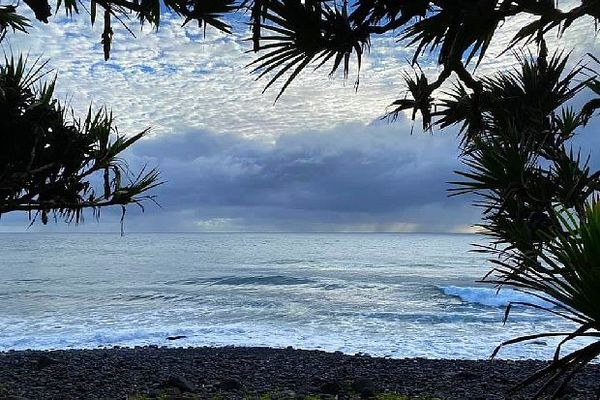 Saint-André bord de mer 23 avril 2020