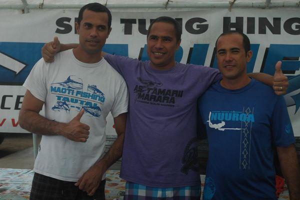 Championnat de pêche sous-marine : Steeve Tetuanui 6e mondial