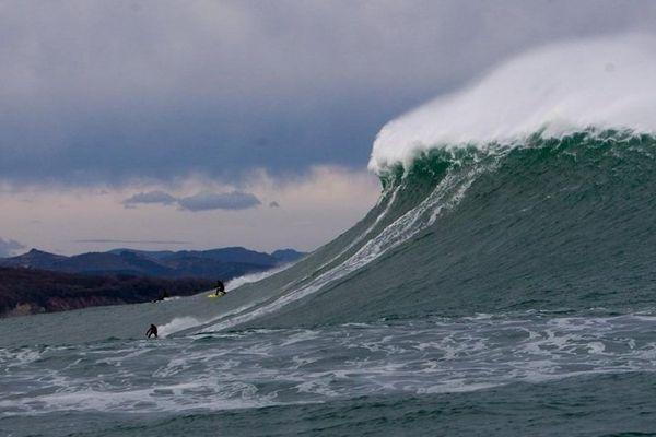 Belharra surf vagues
