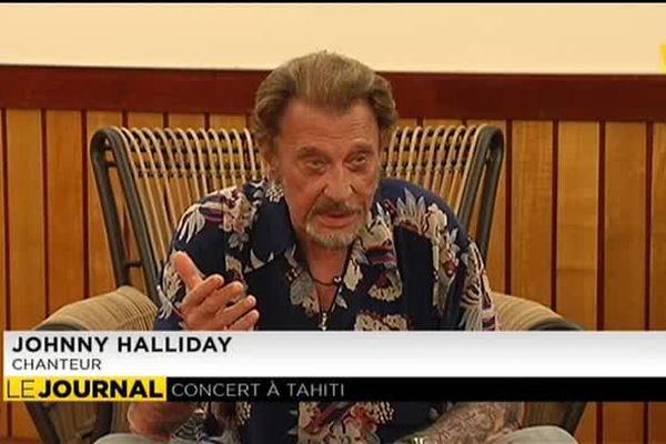 Johnny Hallyday à Toata