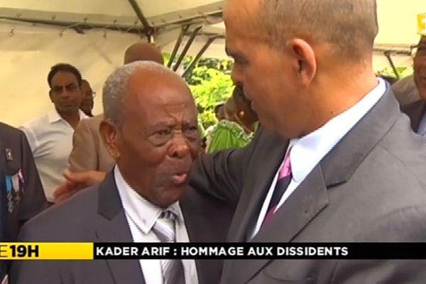 Kader Arif en Martinique