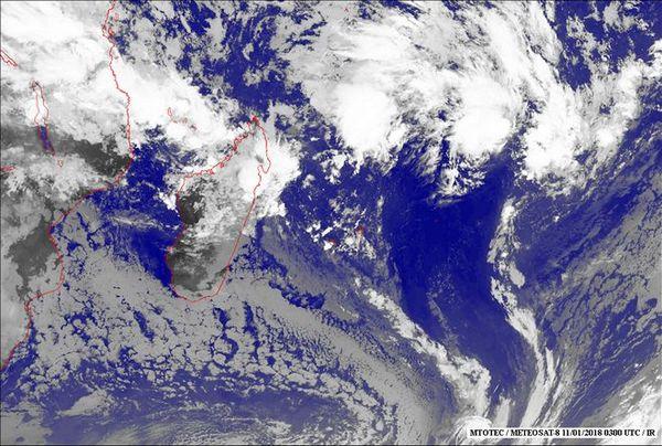 Image Satellite du 11 janvier 2018