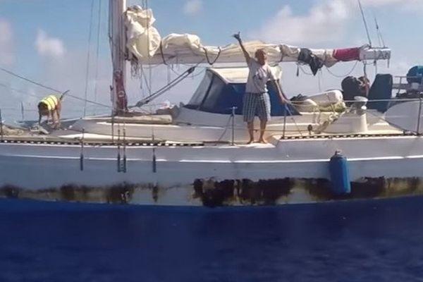 Les deux navigatrices tentaient de rejoindre Tahiti