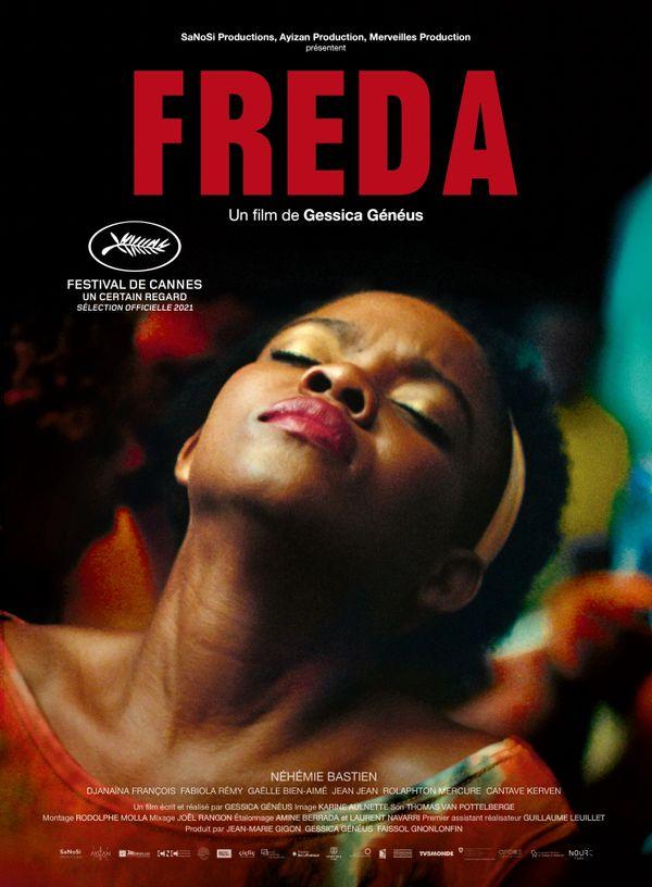 """L'affiche du film """"Freda"""" de Gessica Généus"""