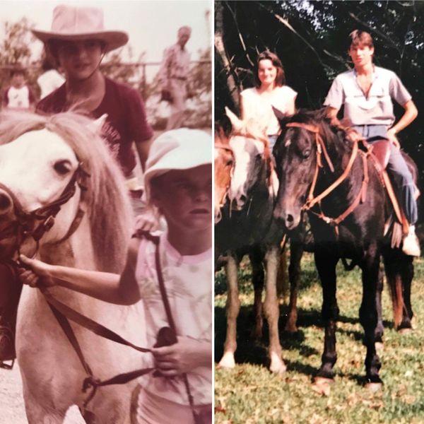 Danièle est passionnée d'équitation depuis toujours