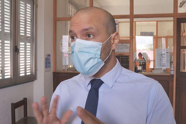 Frédéric Bouteille sous-préfet par intérim