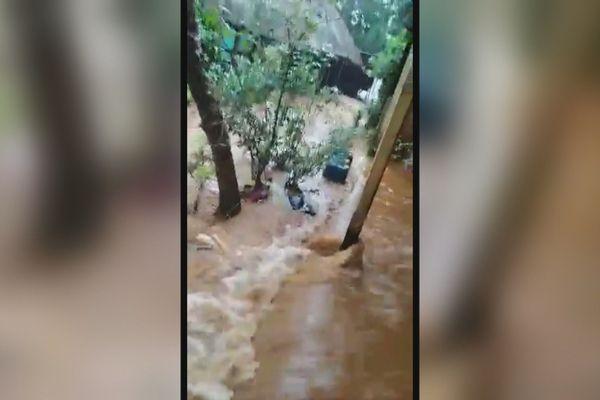 inondation à Yaté