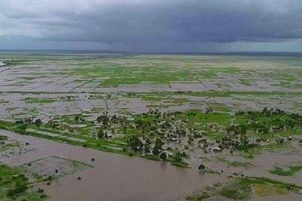 Inondation au Mozambique