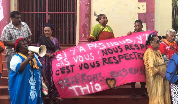 Opération Thio village mort, 18 avril 2018