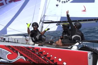 Trésors de Tahiti: les marins d'Arue fiers de la performance de Téva Plichart