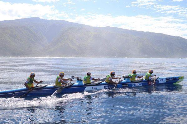 Equipe Junior EDT va'a - Tahiti Nui va'a