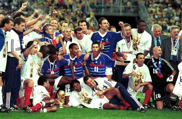Champions du monde 98 photo
