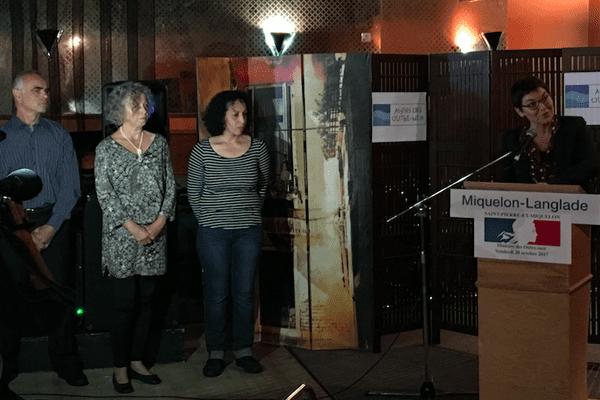 Annick Girardin remet les médailles du mérite agricole