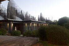Le centre culturel Tjibaou, le lundi 10 mai 2021.