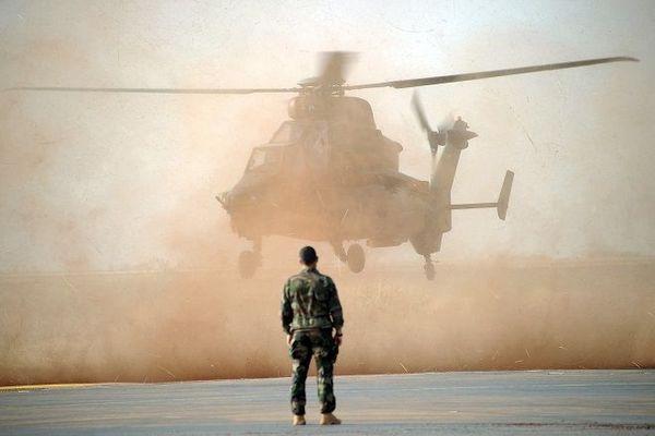 Hélicoptère de combat Tigre au Mali