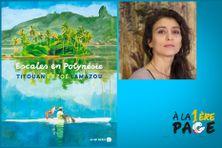 Zoé Lamazou présente l'album réalisé avec son père Titouan dans l'émission littéraire À la 1ère page