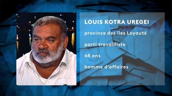 Provinciales 2019, fiche d'identité Louis Kotra Uregei LKU