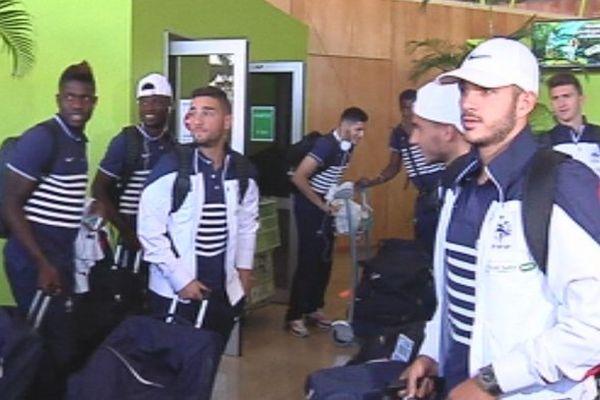 Les bleuets à La Réunion pour une semaine d'entrainement avant un match amical contre l'équipe A de Singapour