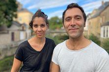 Oriane Lacaille et JereM Boucris à Craon (Mayenne) le 19 septembre 2021