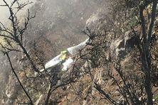 Un ULM s'est écrasé au Maïdo avec deux personnes à bord, dimanche 10 octobre.