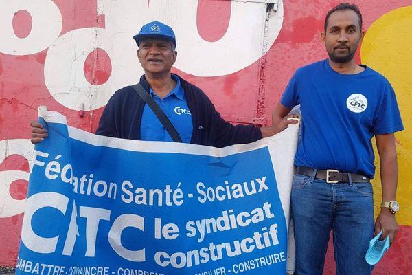 Mobilisation des syndicats hospitaliers.