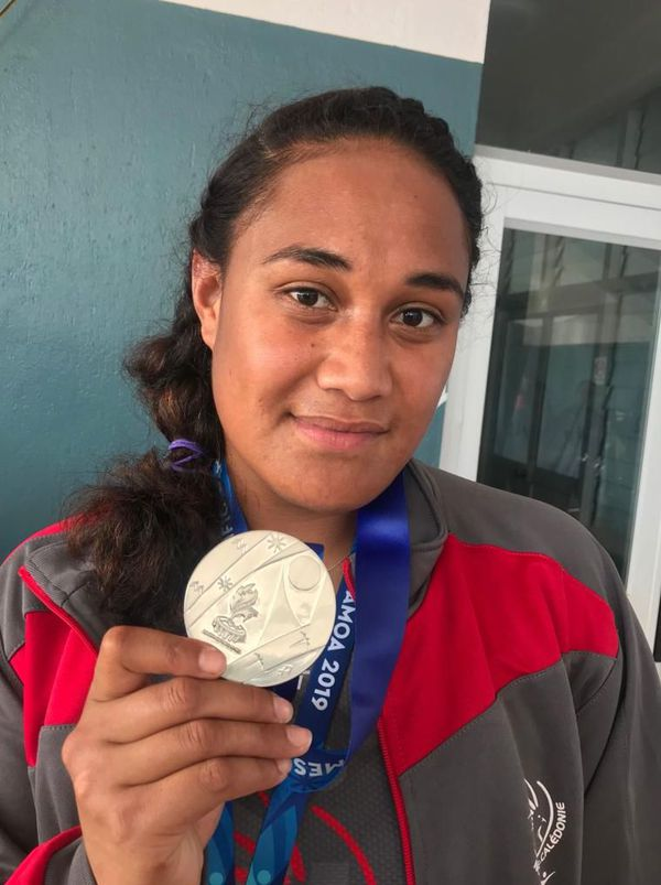 Samoa 2019, Elise Takosi, argent au marteau