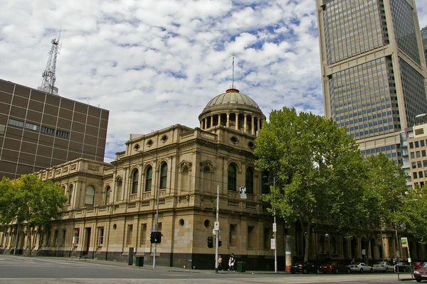 cour de justice Melbourne