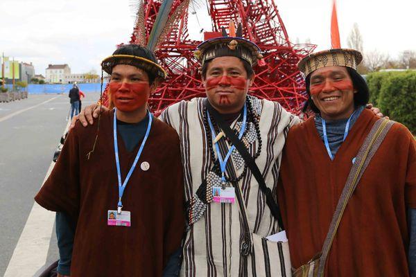 Indiens Ashaninka à la COP21