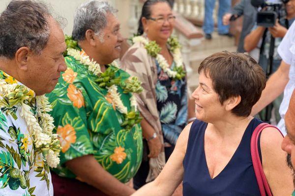Annick Girardin au contact de la réalité des îles