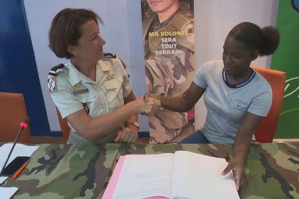 23 jeunes Guyanais s'engagent dans l'armée de terre