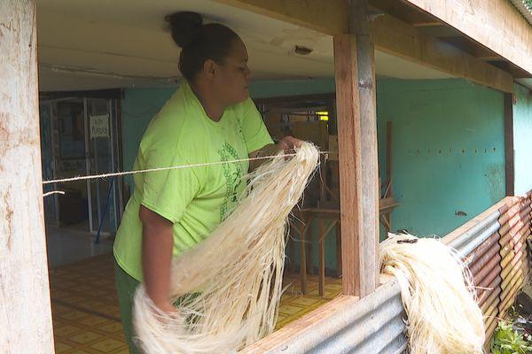 Huahine : les fabricants de more traditionnels au chômage technique à cause du covid