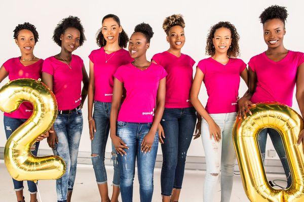 Les candidates de Miss Guyane 2018