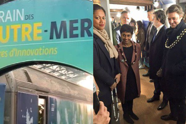 Un train pour faire découvrir et valoriser la diversité des Outre-mer