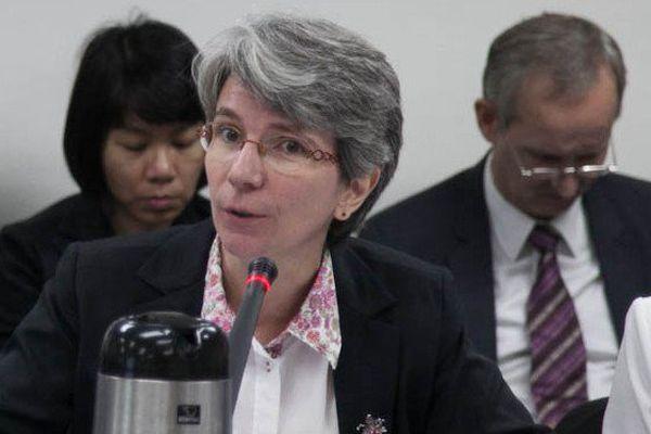 Dr Corinne Capuano, déléguée de l'OMS dans le Pacifique