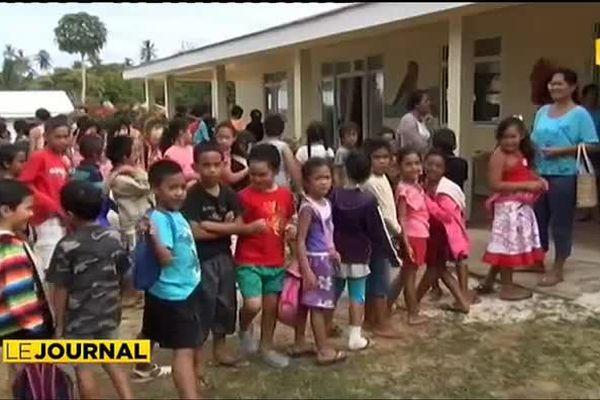 Retour à Rimatara : les collégiens sont de retour sur leur île