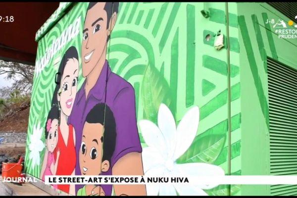 Le street art s'exporte à Nuku Hiva