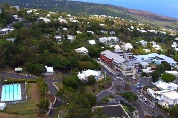 Vue aérienne (drone) de La Montagne