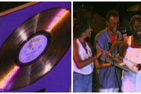 disque d'or Kassav 1986