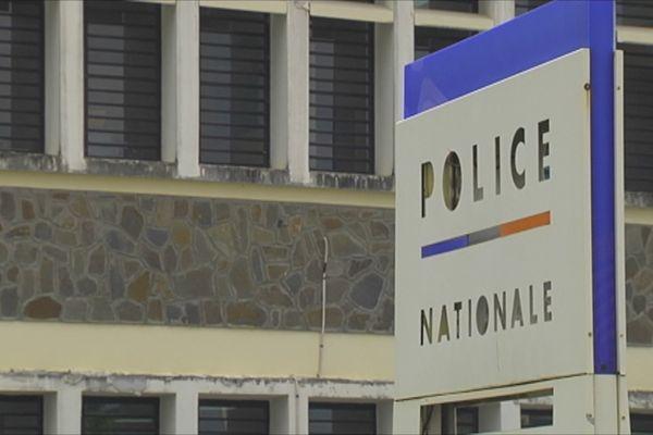 Face extérieure SRPJ Martinique