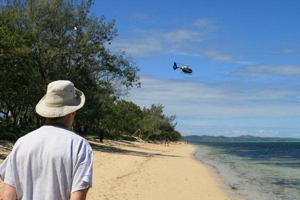 attaque de requin sur la plage de Poé à Bourail