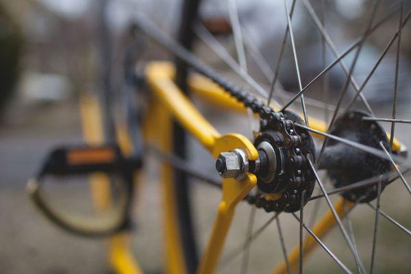 Bicyclette sur la route