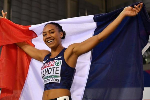 Rénelle Lamote vice-championne d'Europe à Glasgow indoor